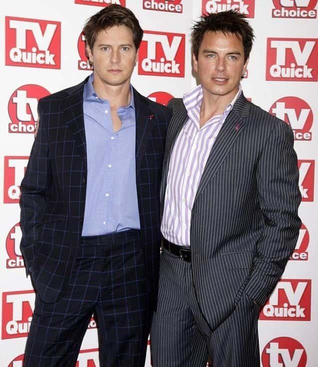 John Barrowman And Scott Gill